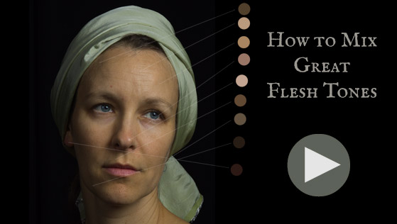 How To Mix Great Flesh Tones