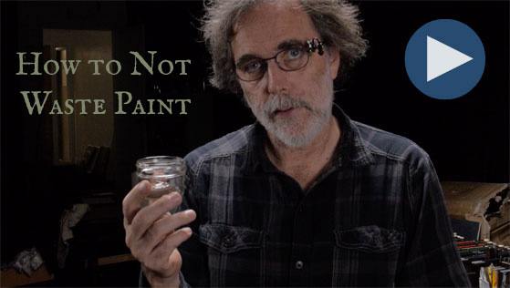 How to Not Waste Oil Paint