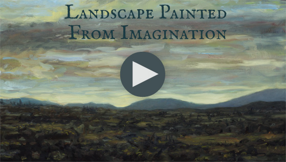 Landscape from Imagination - Oil Painting Demonstration