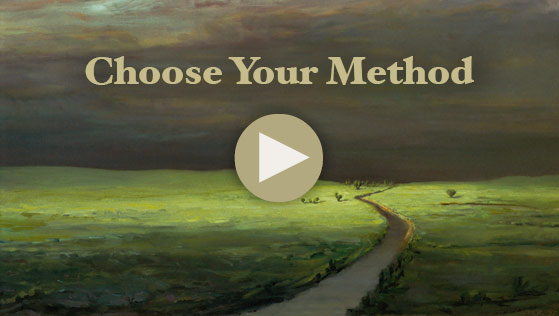 video about choosing which oil painting method to use