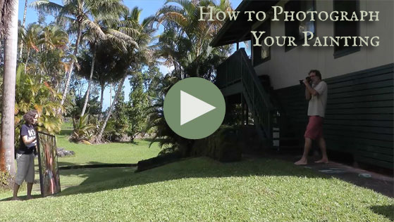 How to Photograph Your Painting