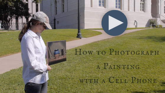 How to Photograph Paintings With a Cell Phone