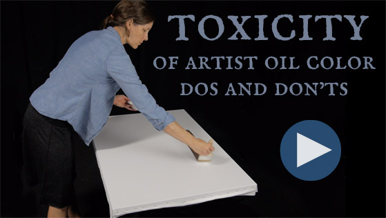 Toxicity of Artist Oil Color - Dos and Donts