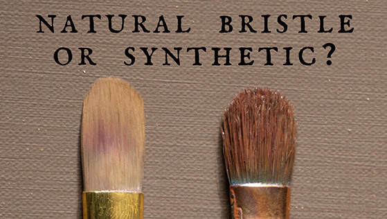 Why I Use Natural Bristle Brushes