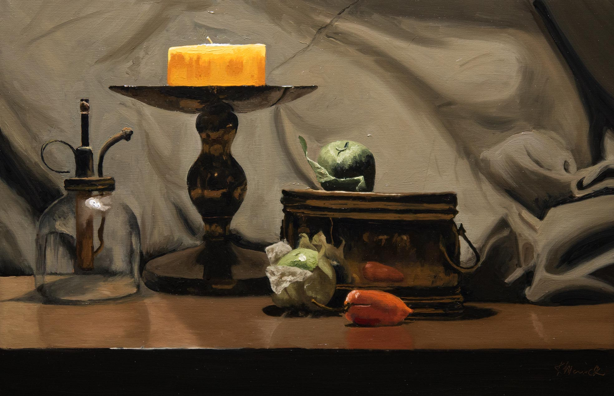 Private Still Life Course Draw Mix Paint